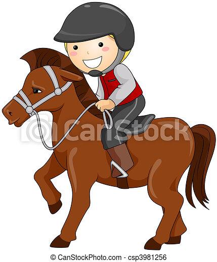 Horseback Riding - csp3981256