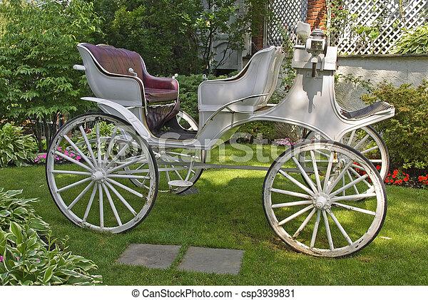 Horseless Carriage - csp3939831