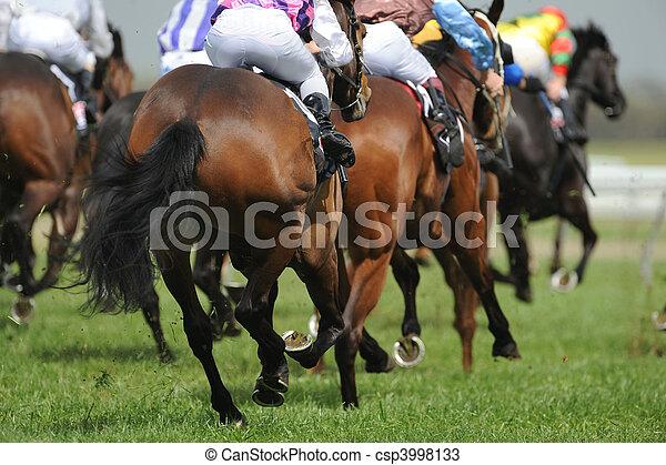 Horseracing - csp3998133