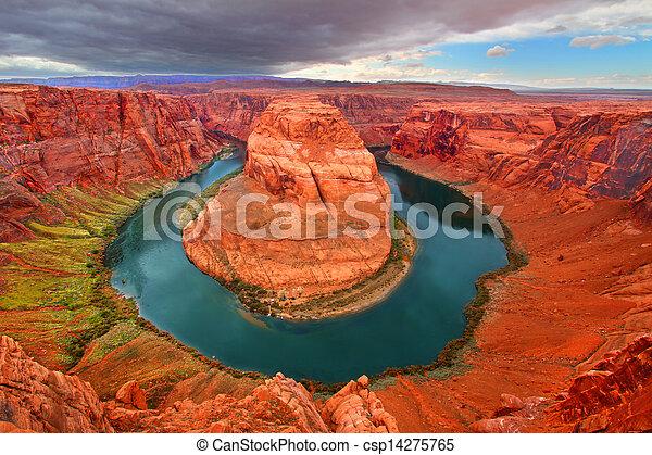 Horseshoe Bend Colorado River - csp14275765