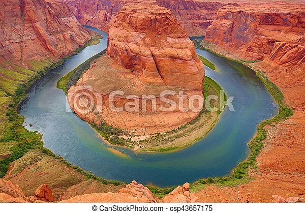 Horseshoe canyon - csp43657175