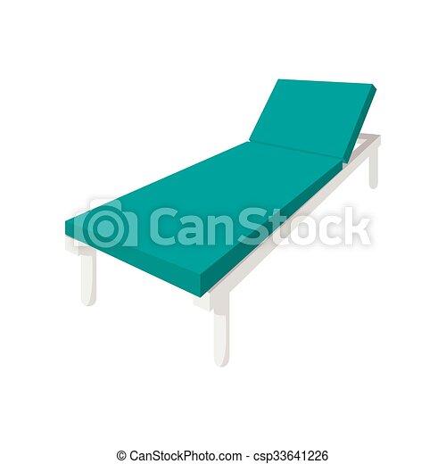 Hospital Bed Cartoon Icon   Csp33641226