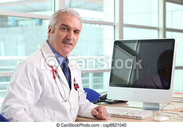 hospital doctor - csp8821040
