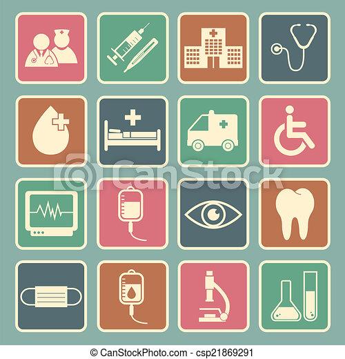 Hospital icon - csp21869291