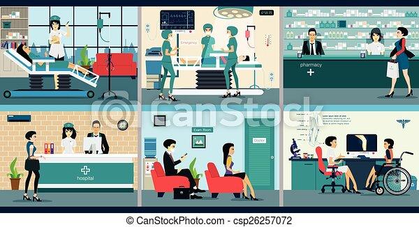 Hospital - csp26257072