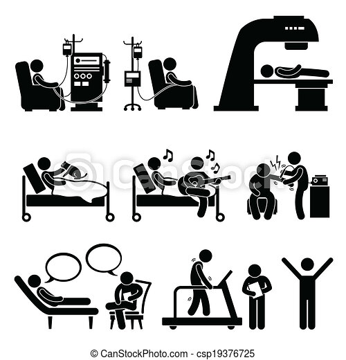 Hospital Medical Therapy Treatment - csp19376725