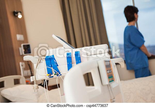 Hospital room health - csp44773637