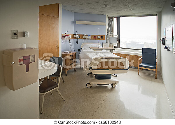 Hospital room - csp6102343