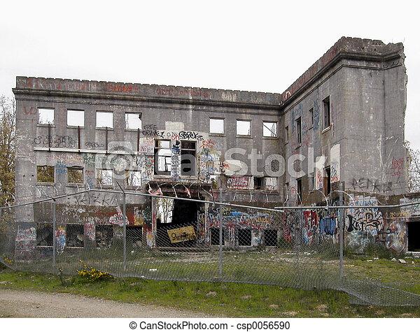 Hospital Ruins 1 - csp0056590