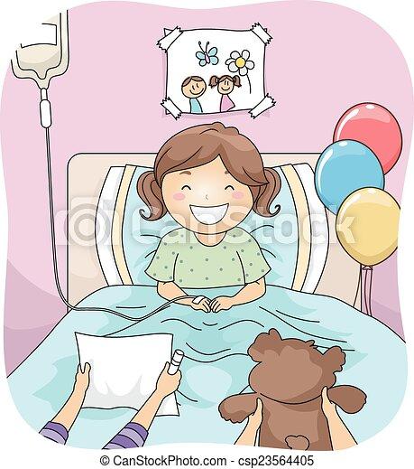 Hospital Visitors - csp23564405