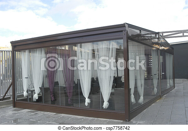Hospitality Tent For Outdoor Smoking Stock Photo & Hospitality tent for outdoor smoking stock photo - Search Pictures ...