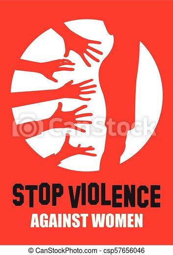 Basta de violencia y acoso - csp57656046
