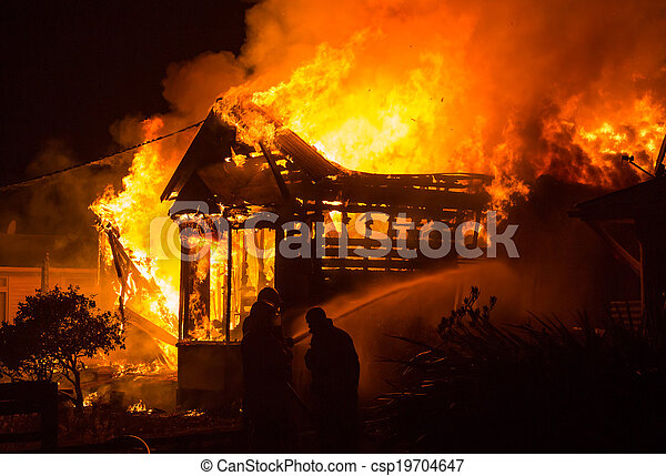 Hosue Fire - csp19704647