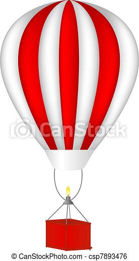 Hot air balloon - csp7893476