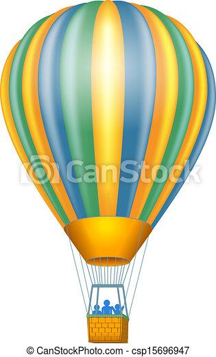 Hot air balloon - csp15696947