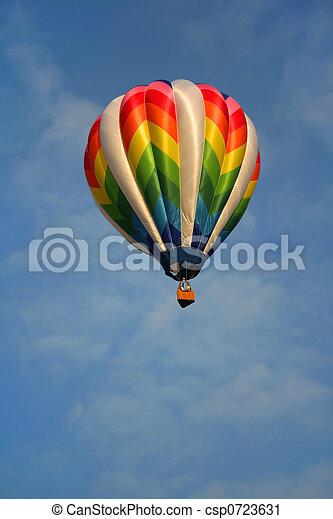 Hot Air Balloon  - csp0723631