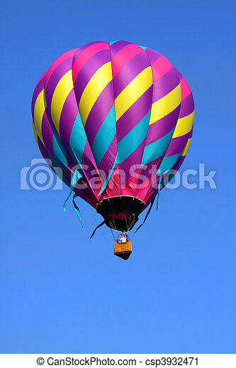 Hot air balloon - csp3932471