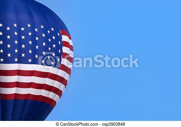 Hot air balloon - csp3903848