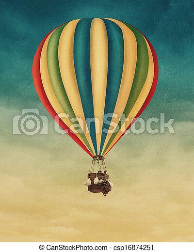 Hot air balloon - csp16874251