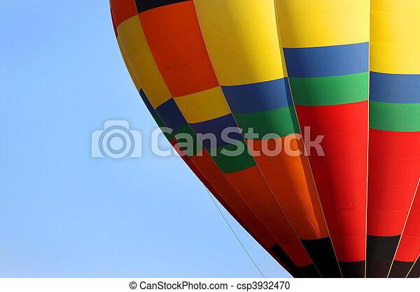 Hot air balloon - csp3932470
