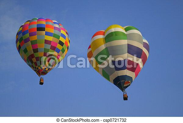 Hot Air Balloons  - csp0721732