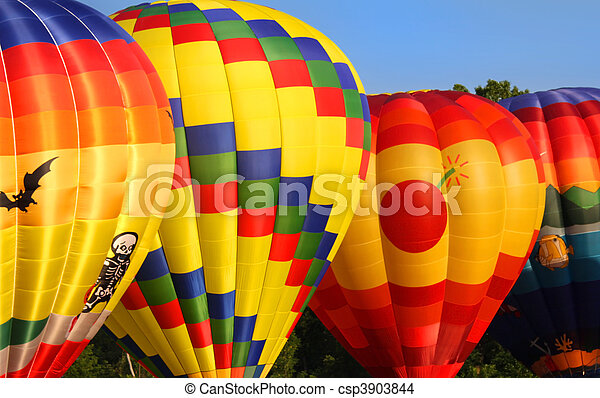 Hot air balloons - csp3903844