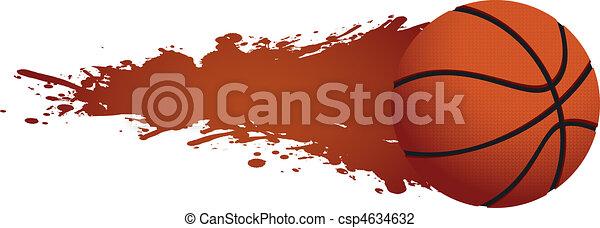 hot basketball - csp4634632