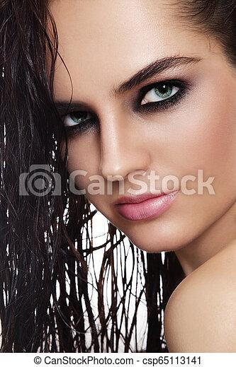 Hot beauty - csp65113141