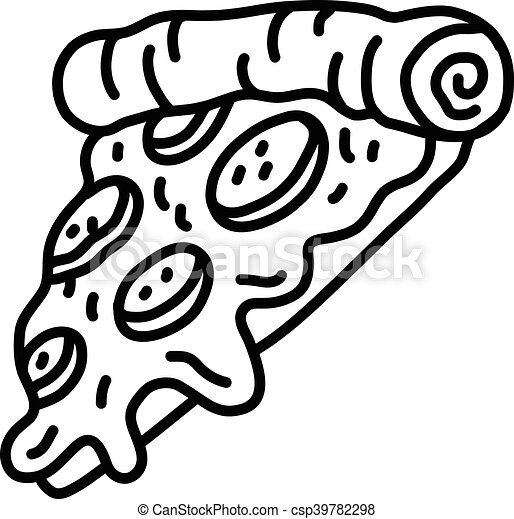 hot cartoon pizza slice eps vectors search clip art illustration rh canstockphoto com Pizza Slice Drawing pizza slice vector free download