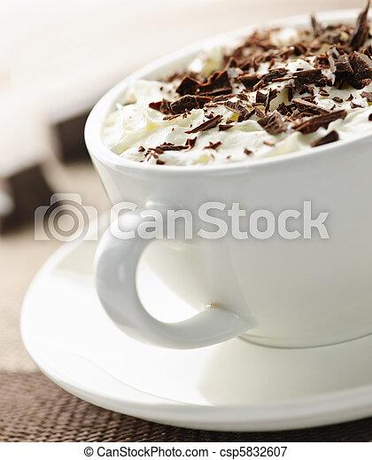 Hot chocolate - csp5832607