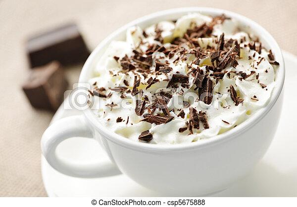 Hot chocolate - csp5675888