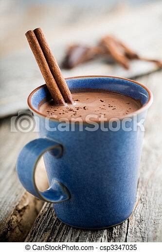 Hot chocolate - csp3347035