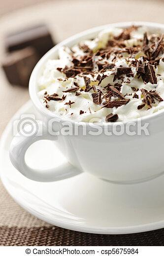 Hot chocolate - csp5675984