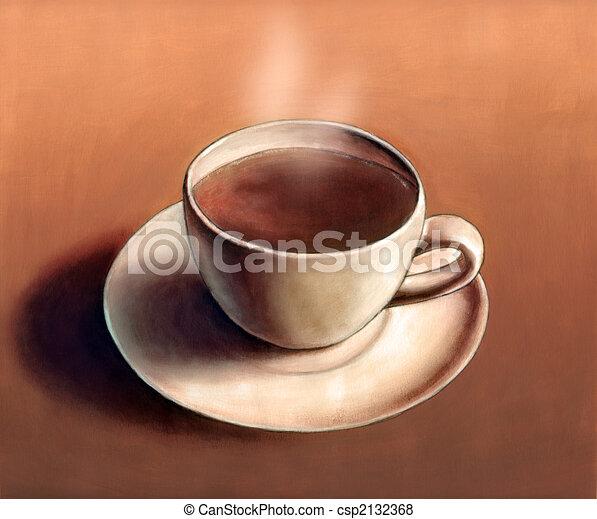 Hot coffee - csp2132368