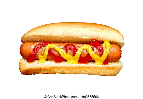 hot dog - csp0665566