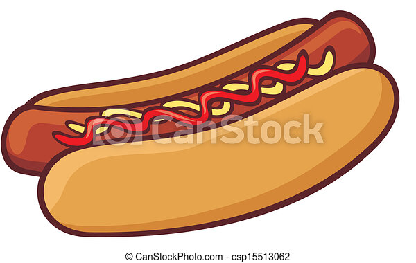 hot dog rh canstockphoto com free hamburger and hot dog clipart free hot dog pictures clip art