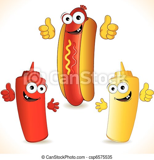 hot dog - csp6575535