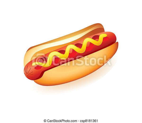 hot-dog - csp8181361
