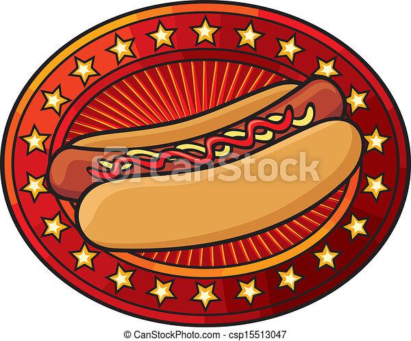 hot dog - csp15513047