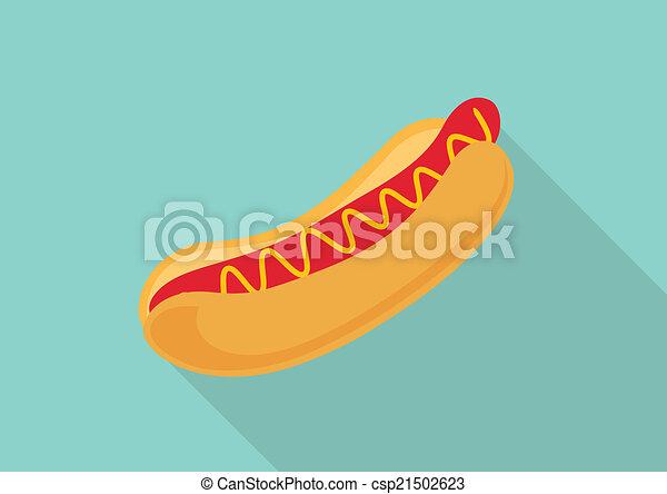 Hot dog - csp21502623