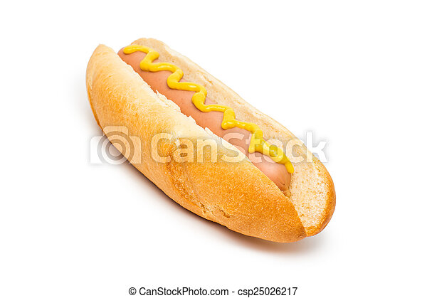 Hot dog - csp25026217