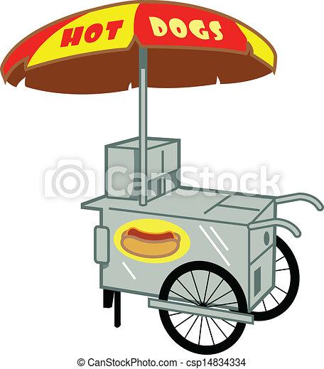 Hot Dog Stand - csp14834334