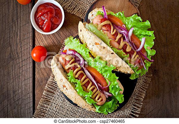 Hot Dog  - csp27460465