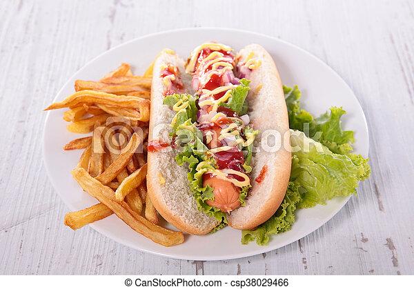 hot dog - csp38029466