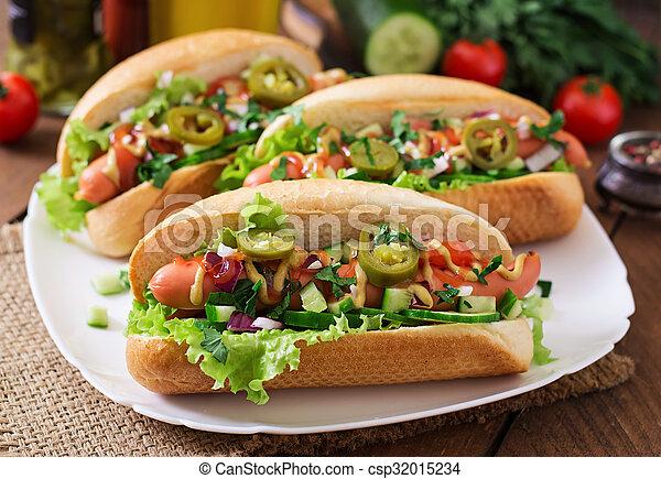 hot dog - csp32015234