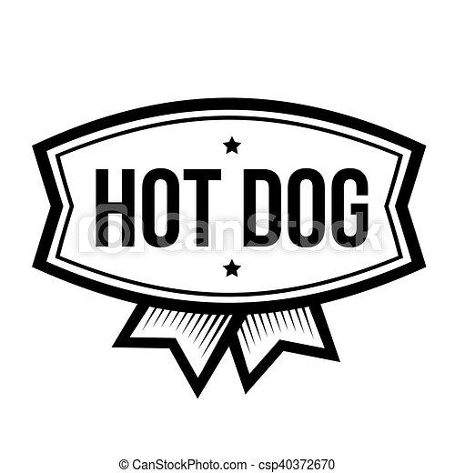 hot dog vintage logo rh canstockphoto com hot dog lego hot dog lego