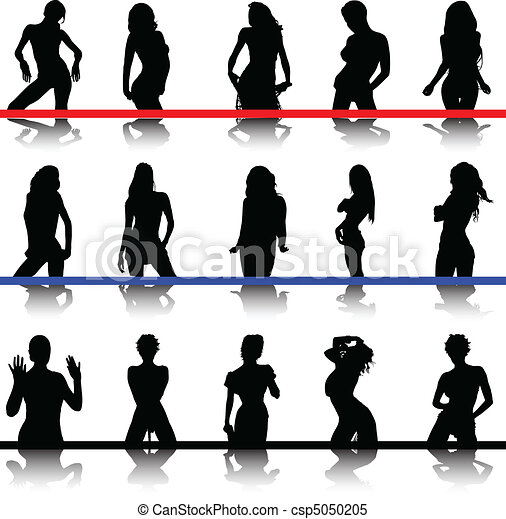 sexy woman silhouette png - #woman #silhouette #sexy - Hot Girl Silhouette Clip  Art   #2009674 - Vippng