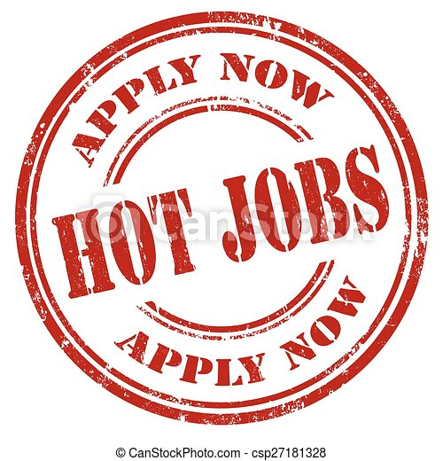 Hot Jobs-stamp - csp27181328