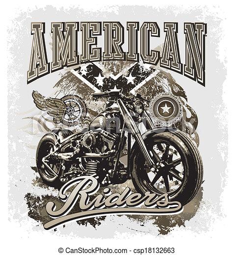 hot rod american riders - csp18132663