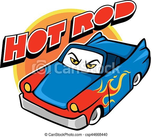 vector cartoon illustration of hot rod car eps vector search clip rh canstockphoto com free cartoon hot rod clipart free clipart hot rod cars
